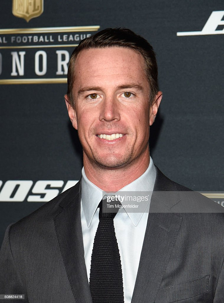 NFL player <a gi-track='captionPersonalityLinkClicked' href=/galleries/search?phrase=Matt+Ryan+-+Football+americano&family=editorial&specificpeople=4951318 ng-click='$event.stopPropagation()'>Matt Ryan</a> attends the 5th Annual NFL Honors at Bill Graham Civic Auditorium on February 6, 2016 in San Francisco, California.