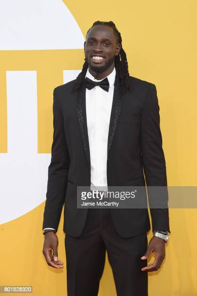 NBA player Maurice Ndour attends the 2017 NBA Awards live on TNT on June 26 2017 in New York New York 27111_003