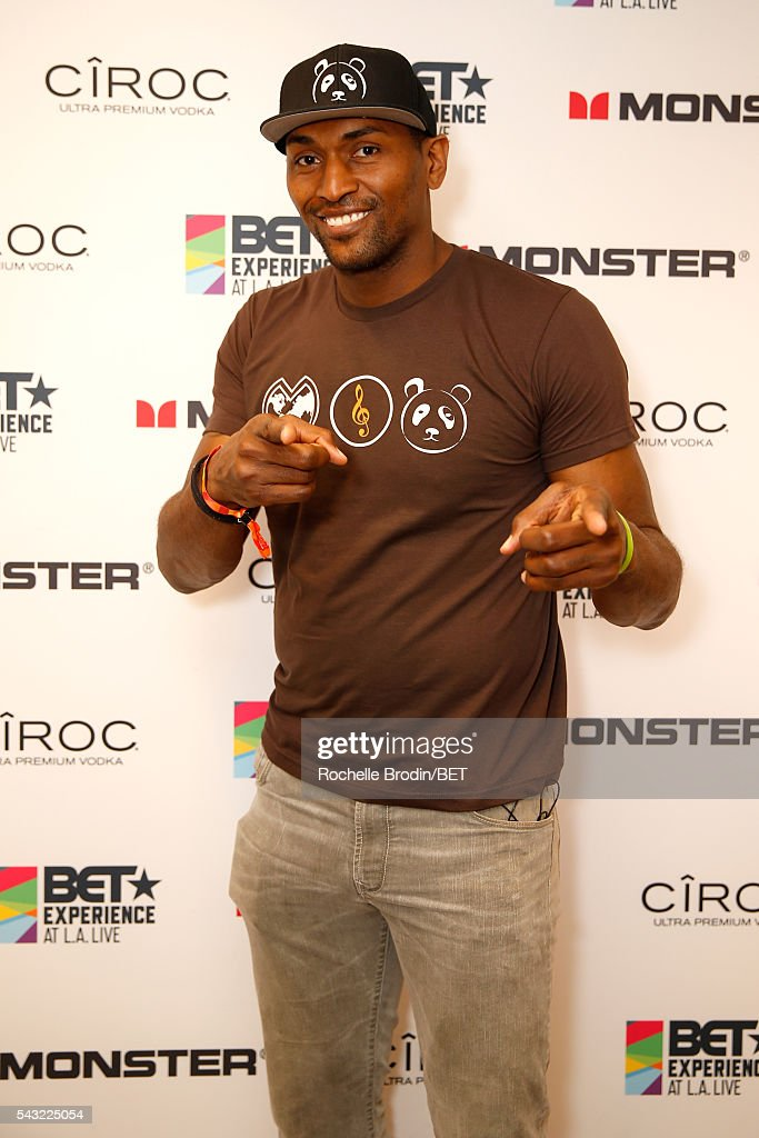 NBA player Metta World Peace attends the BETX gifting suite during the 2016 BET Experience on June 26, 2016 in Los Angeles, California.
