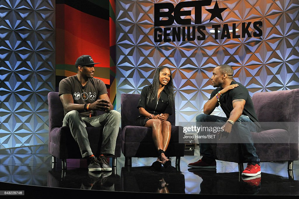 NBA player Metta World Peace, Dr. Keisha Downey and journalist Marc Lamont Hill speaks at the