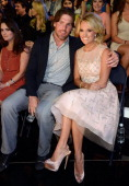 NHL player Mike Fisher and singer Carrie Underwood attend the 2013 CMT Music awards at the Bridgestone Arena on June 5 2013 in Nashville Tennessee