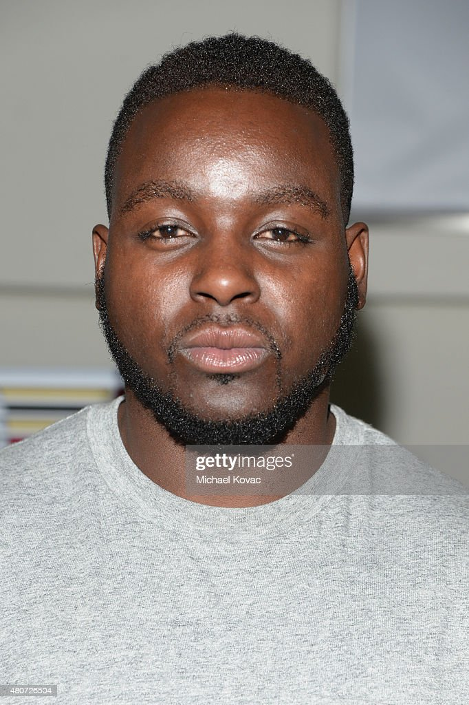 NFL player <a gi-track='captionPersonalityLinkClicked' href=/galleries/search?phrase=Montee+Ball&family=editorial&specificpeople=6475135 ng-click='$event.stopPropagation()'>Montee Ball</a> attends BODY at ESPYs at Milk Studios on July 14, 2015 in Hollywood, California.