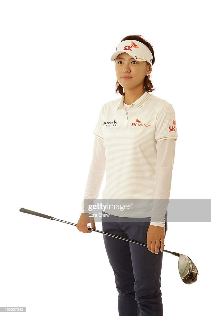 LPGA player Na Yeon Choi of South Korea poses for a portrait prior to the start of the RR Donnelley Founders Cup at the JW Marriott Desert Ridge Resort on March 13, 2013 in Phoenix, Arizona.
