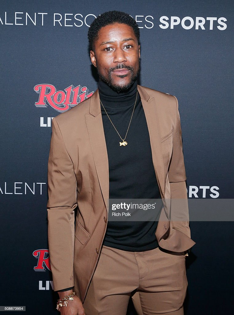 NFL player <a gi-track='captionPersonalityLinkClicked' href=/galleries/search?phrase=Nate+Burleson&family=editorial&specificpeople=206296 ng-click='$event.stopPropagation()'>Nate Burleson</a> attends Rolling Stone Live SF with Talent Resources on February 7, 2016 in San Francisco, California.