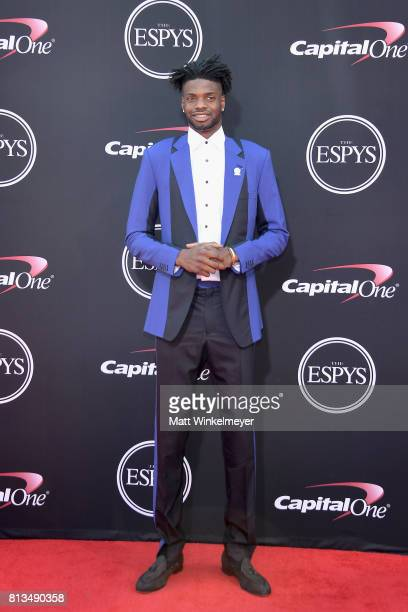 NBA player Nerlens Noel attends The 2017 ESPYS at Microsoft Theater on July 12 2017 in Los Angeles California