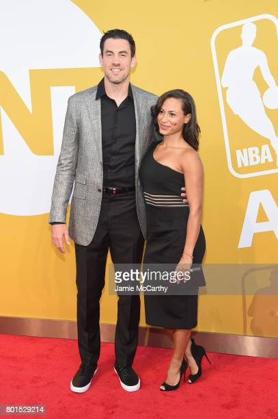 NBA player Nick Collison and Robbie Harriford attend the 2017 NBA Awards live on TNT on June 26 2017 in New York New York 27111_003