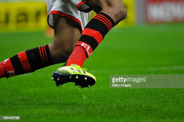 A player of Flamengo during the match between Flamengo and Vasco for the Brazilian Series A 2013 on October 06 2013 in Brasilia Brazil
