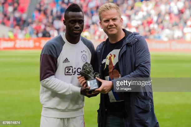 player of the season at Ajax according to the supporters Davinson Sanchez of Ajaxduring the Dutch Eredivisie match between Ajax Amsterdam and Go...