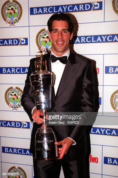 PFA Player of the Year Award winner Ruud Van Nistelrooy