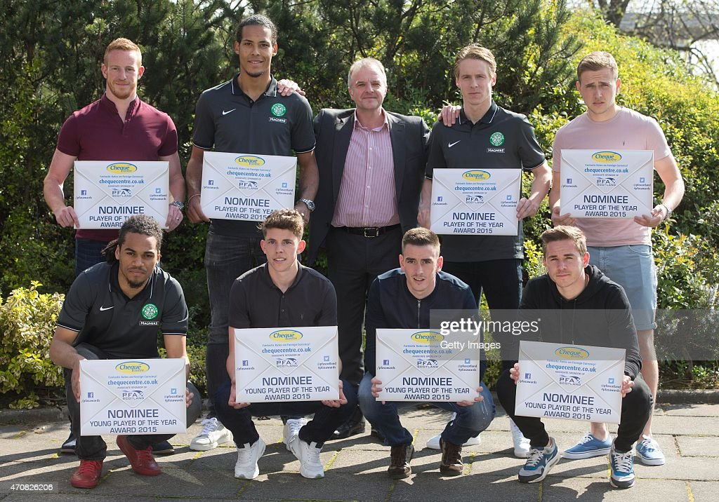Nominees Photocall- PFA Scotland's Scottish Premiership Player of the Year Awards