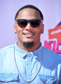 NFL player Patrick Chung arrives at the Nickelodeon Kids' Choice Sports Awards 2014 on July 17 2014 in Los Angeles California