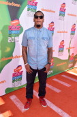 NFL player Patrick Chung attends Nickelodeon Kids' Choice Sports Awards 2014 at UCLA's Pauley Pavilion on July 17 2014 in Los Angeles California