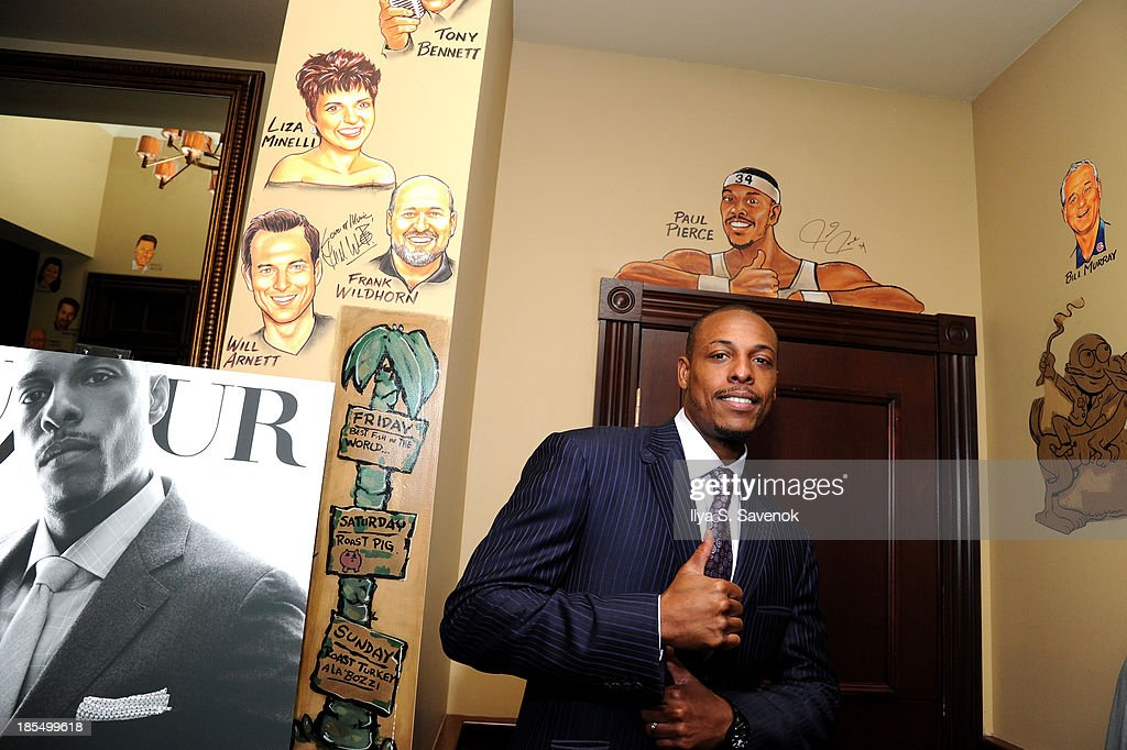 NBA player <a gi-track='captionPersonalityLinkClicked' href=/galleries/search?phrase=Paul+Pierce&family=editorial&specificpeople=201562 ng-click='$event.stopPropagation()'>Paul Pierce</a> attends DuJour's Jason Binn's welcoming NY Nets Star <a gi-track='captionPersonalityLinkClicked' href=/galleries/search?phrase=Paul+Pierce&family=editorial&specificpeople=201562 ng-click='$event.stopPropagation()'>Paul Pierce</a> To NYC event on October 21, 2013 in New York City.
