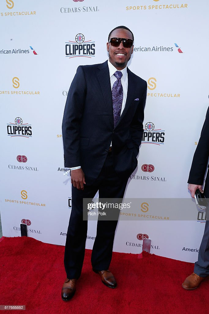 NBA player <a gi-track='captionPersonalityLinkClicked' href=/galleries/search?phrase=Paul+Pierce&family=editorial&specificpeople=201562 ng-click='$event.stopPropagation()'>Paul Pierce</a> attends the Cedars-Sinai Sports Spectacular at W Los Angeles – West Beverly Hills on March 25, 2016 in Los Angeles, California.