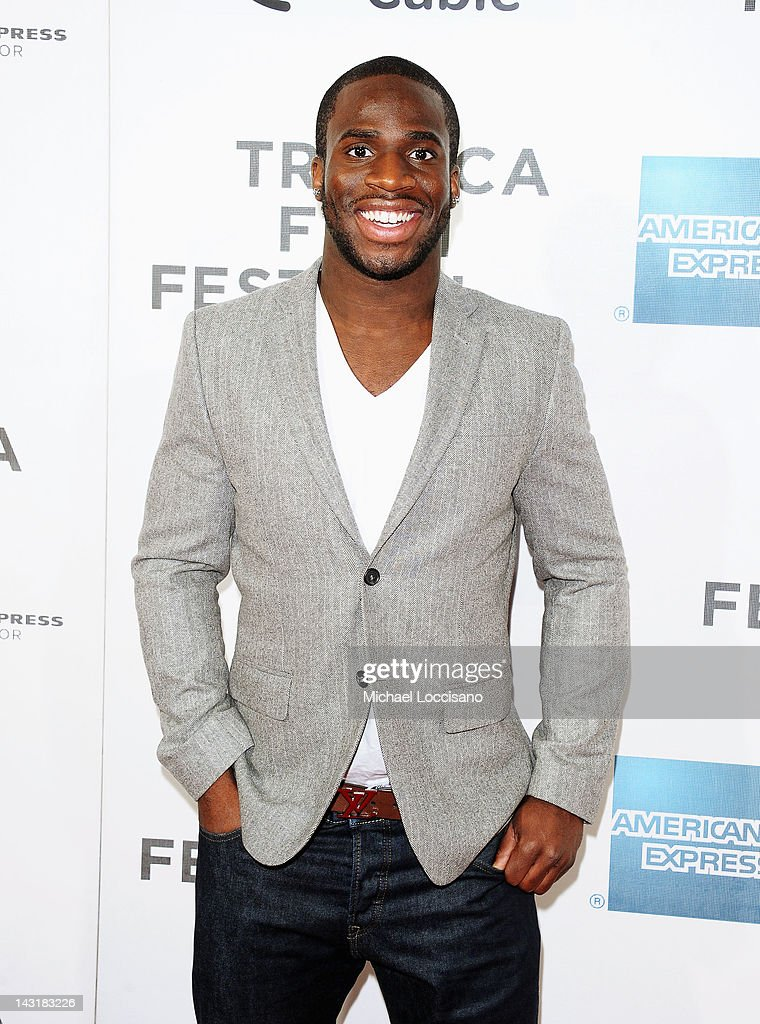 NFL player Prince Amukamara attends the Tribeca/ESPN Sports Film Festival Gala for Benji during the 2012 Tribeca Film Festival at the Borough of Manhattan Community College on April 20, 2012 in New York City.