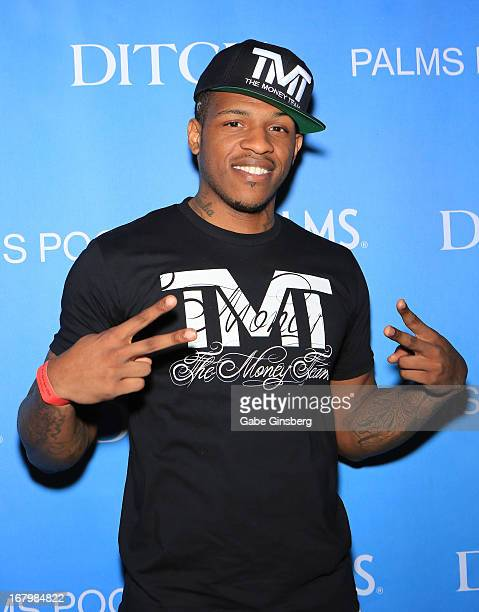 NBA player Rashad McCants arrives at the grand opening of Ditch Fridays at the Palms Casino Resort on May 3 2013 in Las Vegas Nevada