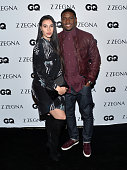 NFL player Reggie Bush and his wife Lilit Avagyan attend the Z Zegna GQ celebration of the new Z Zegna hosted by Nick Jonas at Philymack Inc on...