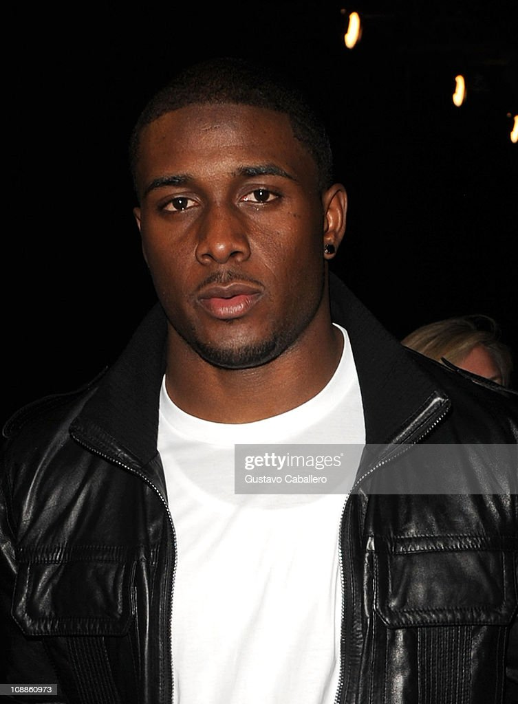 NFL player <a gi-track='captionPersonalityLinkClicked' href=/galleries/search?phrase=Reggie+Bush&family=editorial&specificpeople=183392 ng-click='$event.stopPropagation()'>Reggie Bush</a> of the New Orleans Saints attends the Maxim Party Powered by Motorola Xoom at Centennial Hall at Fair Park on February 5, 2011 in Dallas, Texas.