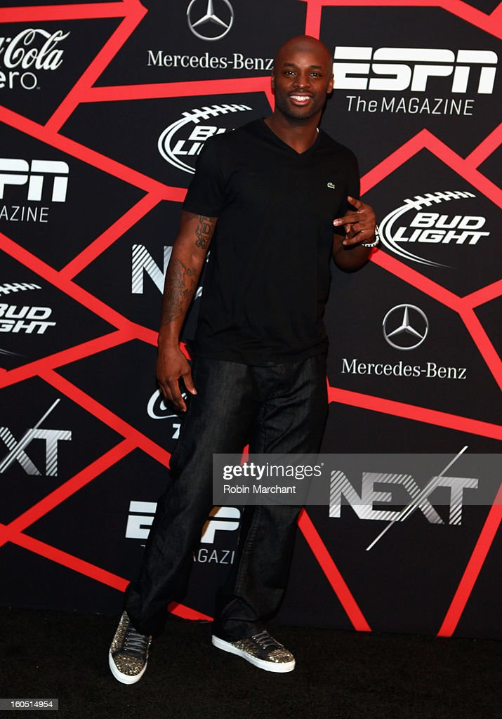 NFL player Reggie Wayne attends ESPN The Magazine's 'NEXT' Event at Tad Gormley Stadium on February 1, 2013 in New Orleans, Louisiana.