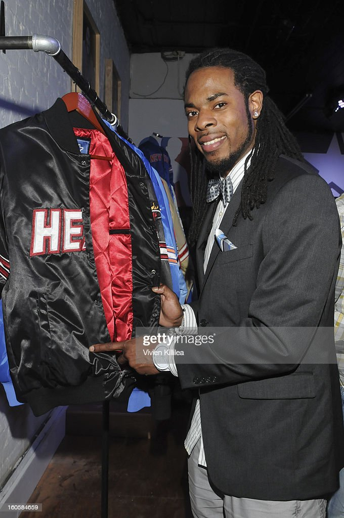 NFL player Richard Sherman attend Starter Parlor - Super Bowl XLVII on February 2, 2013 in New Orleans, Louisiana.