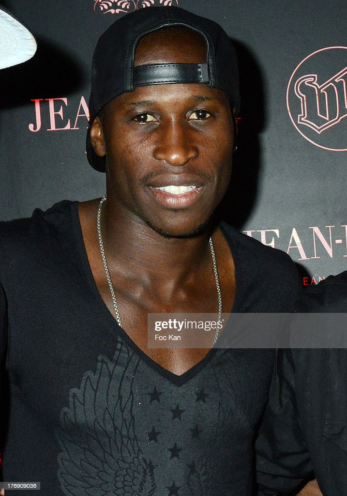 OM player Rod Fanni attends the Mosey DJ Set at the VIP Room in Saint Tropez on August 18 2013 in Saint Tropez France