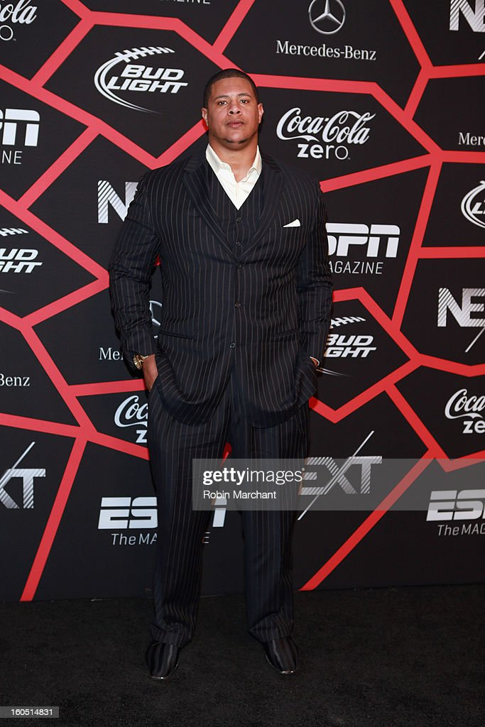 NFL player Rodger Saffold attends ESPN The Magazine's 'NEXT' Event at Tad Gormley Stadium on February 1, 2013 in New Orleans, Louisiana.