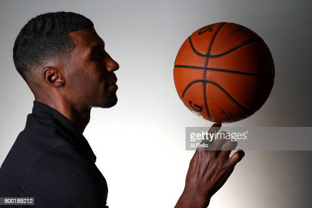 NBA player Ronnie Price poses for a portrait at NBPA Headquarters on June 23 2017 in New York City