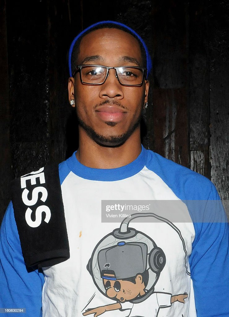 NFL player Rueben Randle attends Greenhouse And Talent Resources Sports Host Super Sunday NOLA After Party at Jax Brewery on February 3, 2013 in New Orleans, Louisiana.