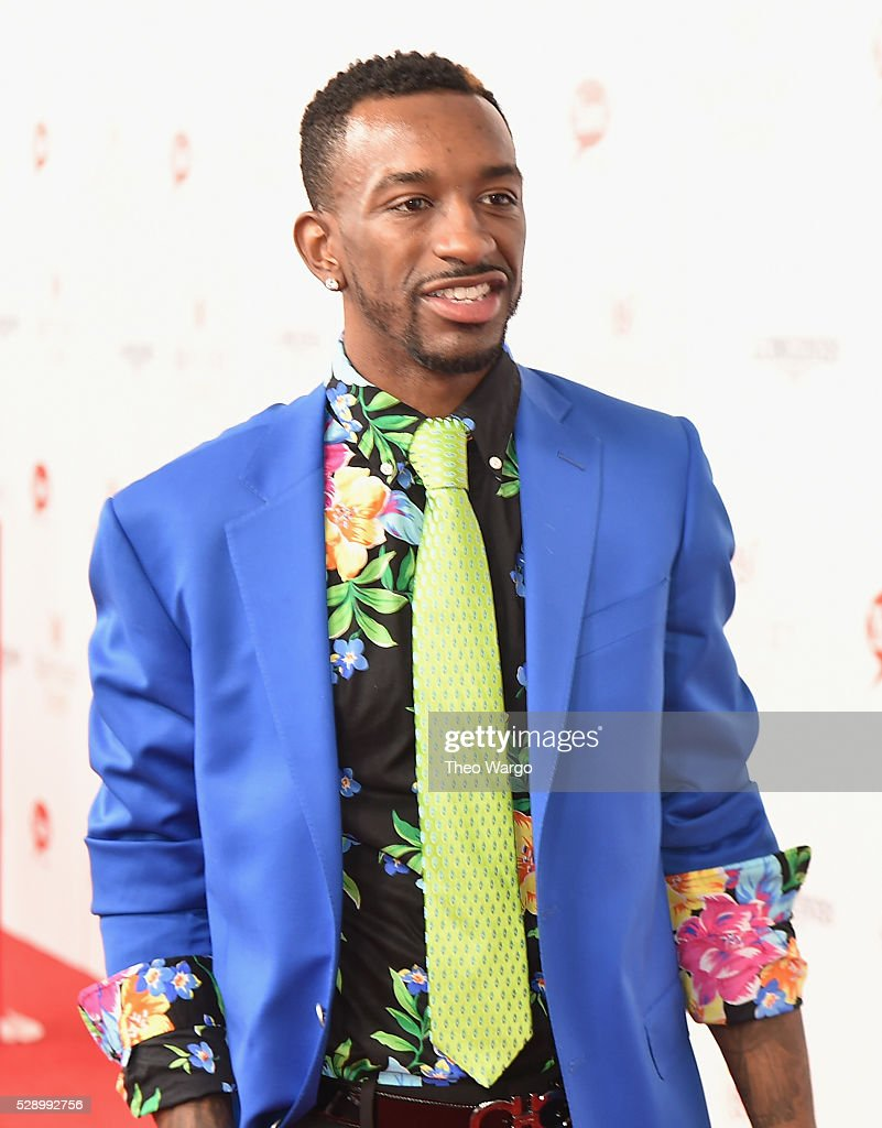 NBA player <a gi-track='captionPersonalityLinkClicked' href=/galleries/search?phrase=Russ+Smith+-+Basketballer&family=editorial&specificpeople=10584261 ng-click='$event.stopPropagation()'>Russ Smith</a> attends the GREY GOOSE Lounge at the 142nd running of The Kentucky Derby at Churchill Downs on May 7, 2016 in Louisville, Kentucky.