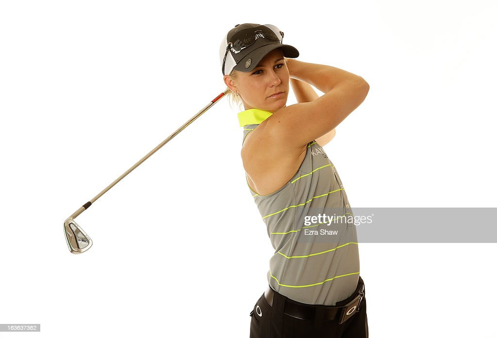 LPGA player Ryann O'Toole poses for a portrait prior to the start of the RR Donnelley Founders Cup at the JW Marriott Desert Ridge Resort on March 13, 2013 in Phoenix, Arizona.