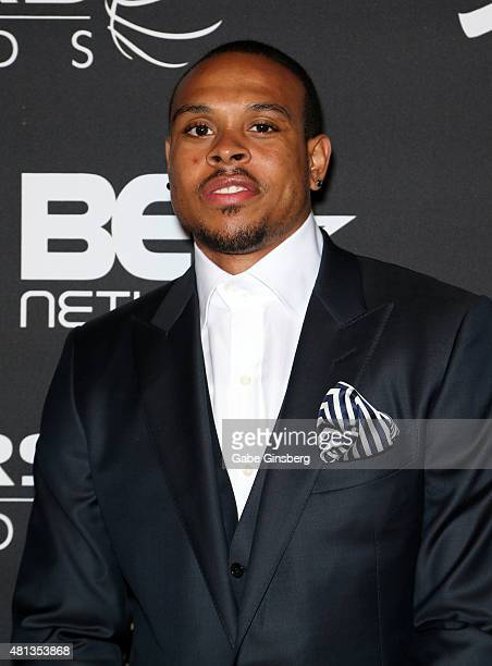 NBA player Shannon Brown attends The Players' Awards presented by BET at the Rio Hotel Casino on July 19 2015 in Las Vegas Nevada