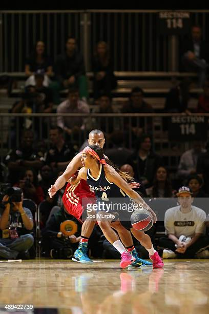 Skylar Diggins Photos Photos - NBA All-Star Celebrity Game ...