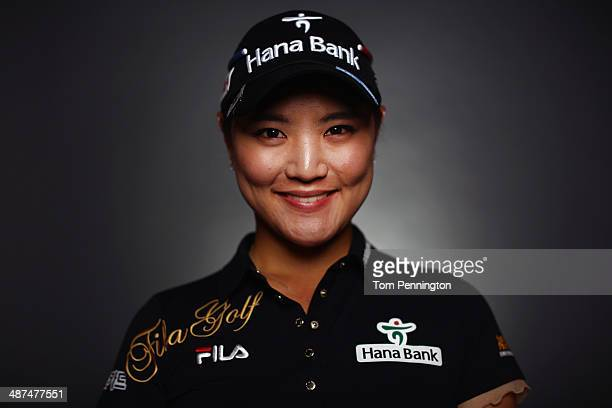 LPGA player So Yeon Ryu South Korea poses for a portrait prior to the start of the North Texas LPGA Shootout Presented by JTBC at the Las Colinas...