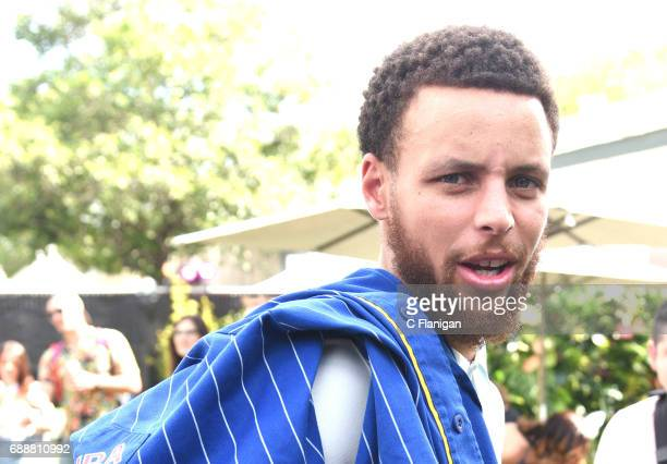 Player Stephen Curry is seen during the 2017 BottleRock Napa Valley Festival on May 26 2017 in Napa California