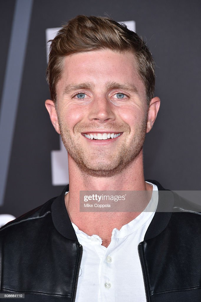 NFL player Steven Hauschka attends Bleacher Report's 'Bleacher Ball' presented by go90 at The Mezzanine prior to Sunday's big game on February 5, 2016 in San Francisco, California.