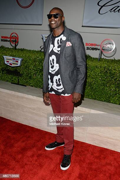 NFL player Terrell Owens attends BODY at ESPYs at Milk Studios on July 14 2015 in Hollywood California