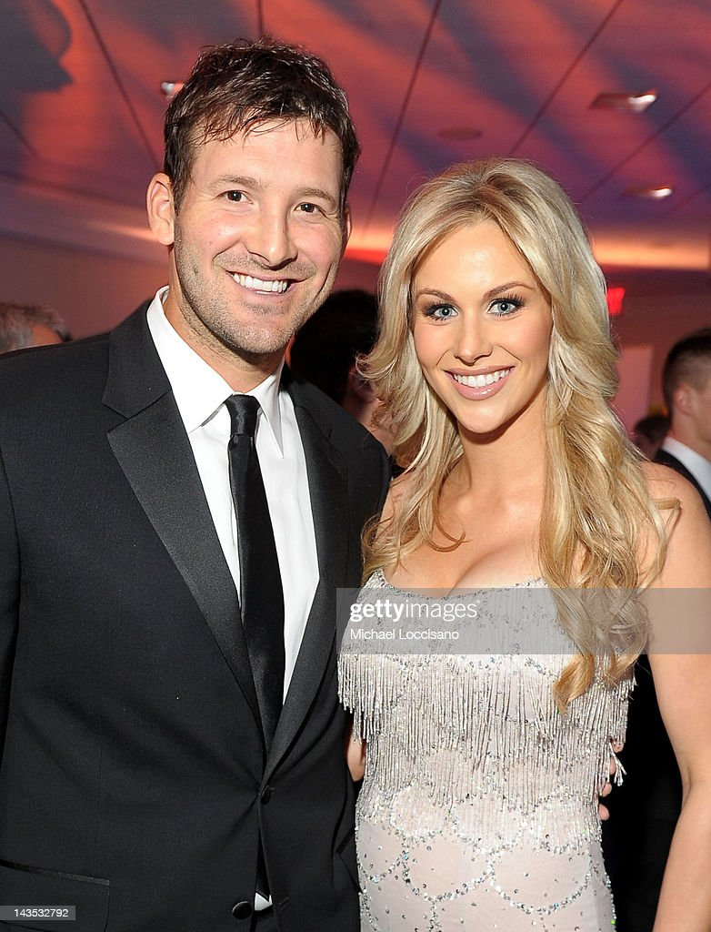 NFL player <a gi-track='captionPersonalityLinkClicked' href=/galleries/search?phrase=Tony+Romo&family=editorial&specificpeople=756503 ng-click='$event.stopPropagation()'>Tony Romo</a> and <a gi-track='captionPersonalityLinkClicked' href=/galleries/search?phrase=Candice+Crawford&family=editorial&specificpeople=5127745 ng-click='$event.stopPropagation()'>Candice Crawford</a> attend TIME/PEOPLE/FORTUNE/CNN White House Correspondents' Association Dinner Cocktail Party at the Hilton Hotel on April 28, 2012 in Washington, DC.