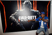 NBA player Ty Lawson visits Activision's Skylanders SuperChargers booth during E3 2015 at Los Angeles Convention Center on June 17 2015 in Los...