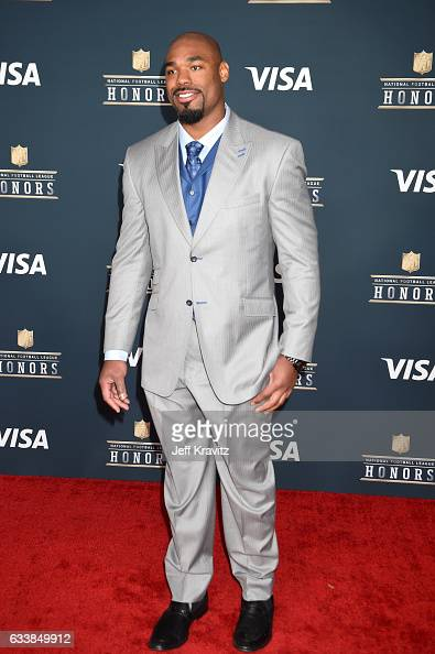 NFL player Tyron Smith attends 6th Annual NFL Honors at Wortham Theater Center on February 4 2017 in Houston Texas