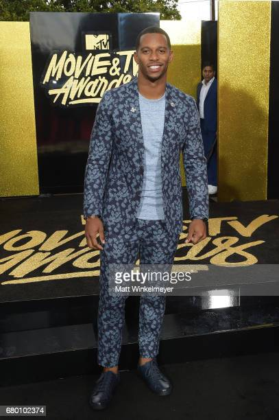 NFL player Victor Cruz attends the 2017 MTV Movie And TV Awards at The Shrine Auditorium on May 7 2017 in Los Angeles California