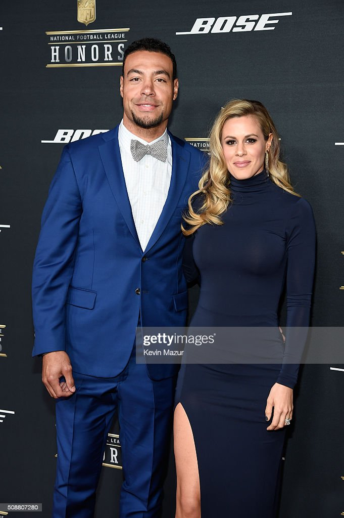 NFL player Vincent Jackson and guest attend the 5th annual NFL Honors at Bill Graham Civic Auditorium on February 6 2016 in San Francisco California