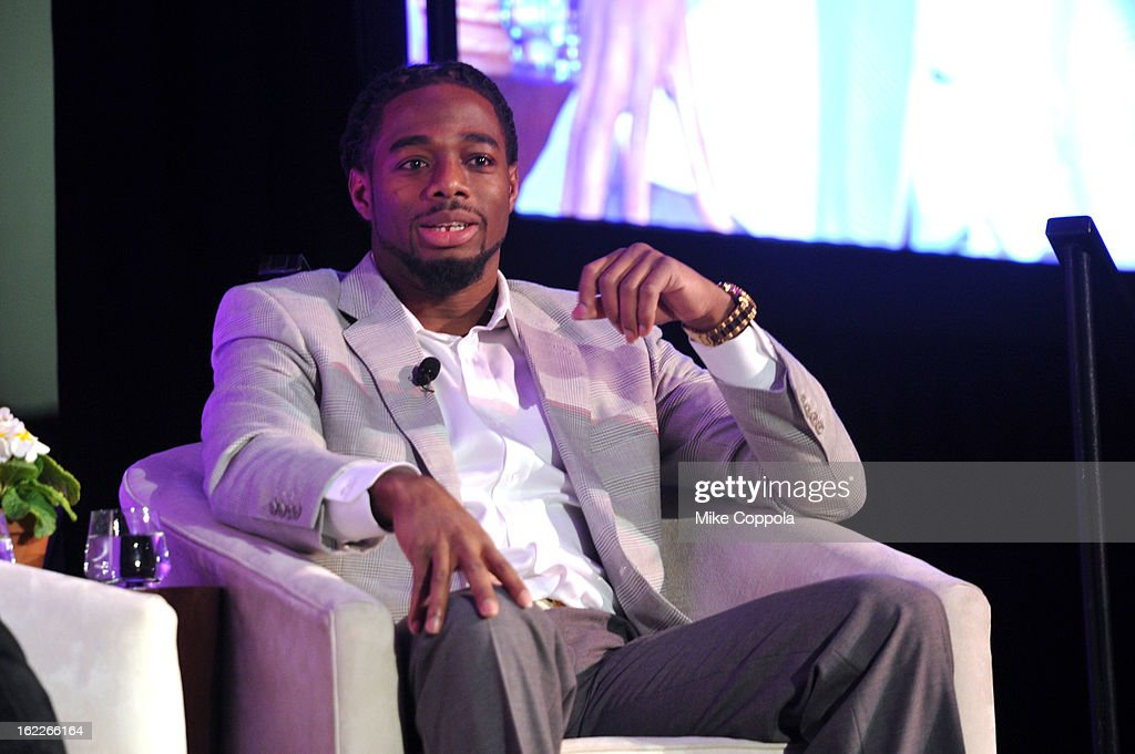 NFL player William Gay attends the A Day To Connect, Inspire And Heal Summit on February 21, 2013 in New York City.