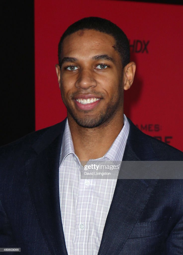 NBA player Xavier Henry attends the premiere of Lionsgate's 'The Hunger Games: Catching Fire' at Nokia Theatre L.A. Live on November 18, 2013 in Los Angeles, California.