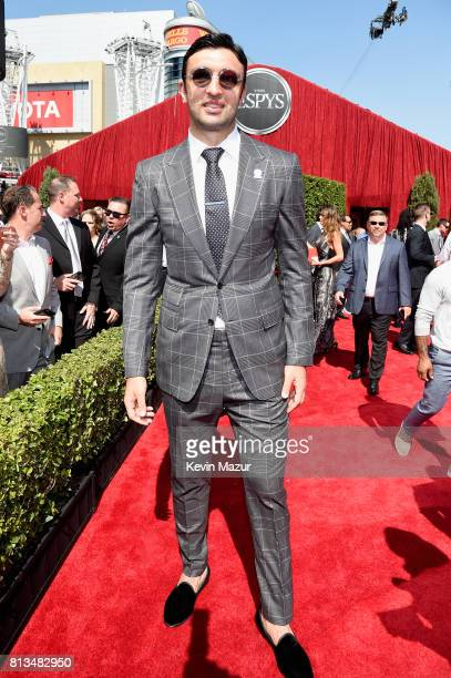 NBA player Zaza Pachulia attends The 2017 ESPYS at Microsoft Theater on July 12 2017 in Los Angeles California