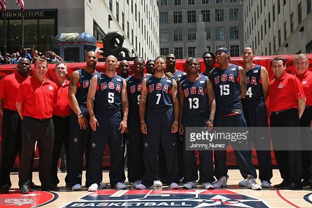 NBA players Carlos Boozer Jason Kidd Michael Redd Dwyane Wade LeBron James Deron Williams Dwight Howard Chris Paul Kobe Bryant Carmelo Anthony and...