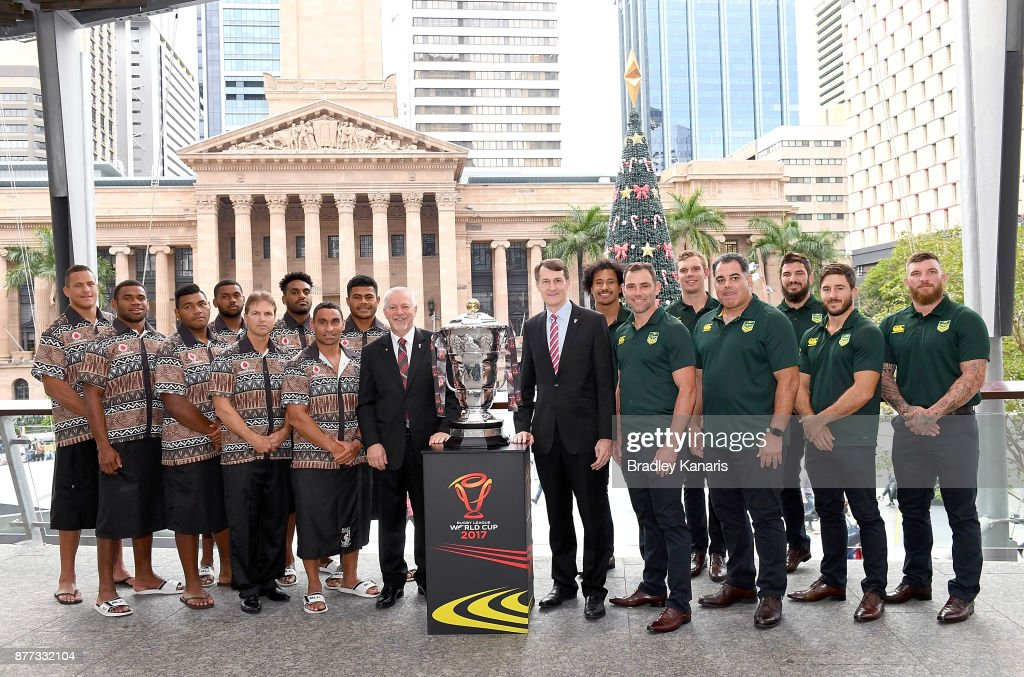 Australia & Fiji Rugby League World Cup Civic Reception