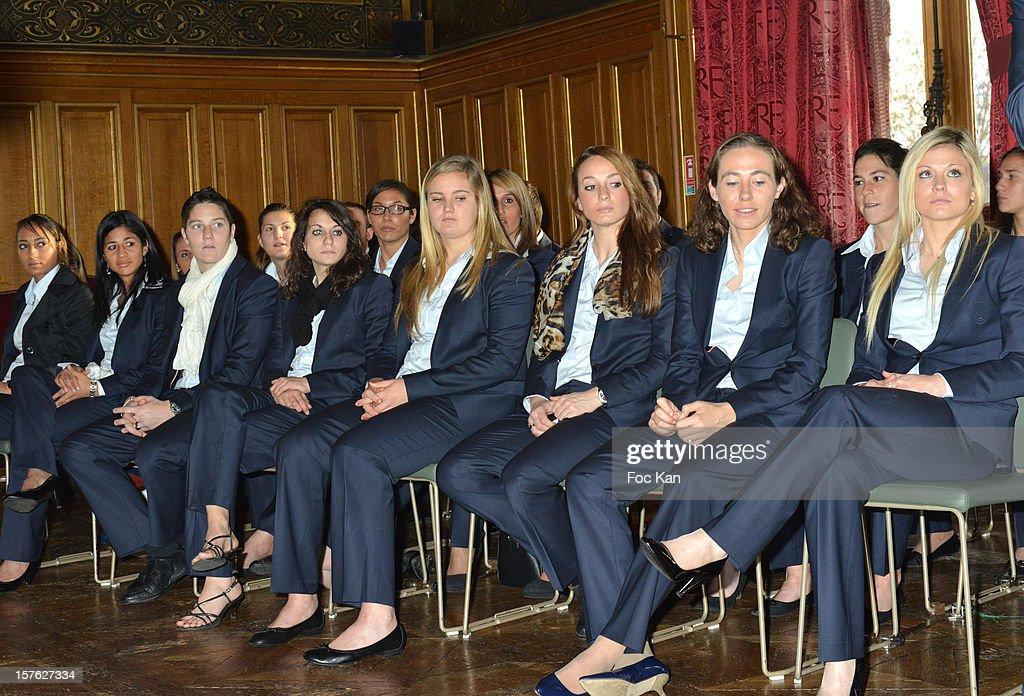 'Allez Les Filles' - PSG Women Football Team Press ...