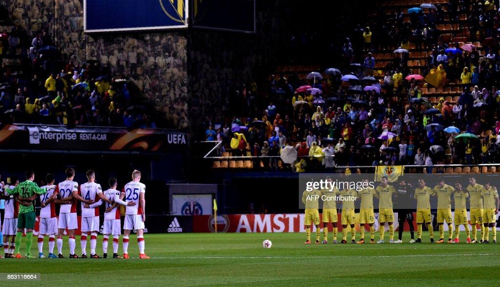 Villarreal CF v Slavia Praha - UEFA Europa League