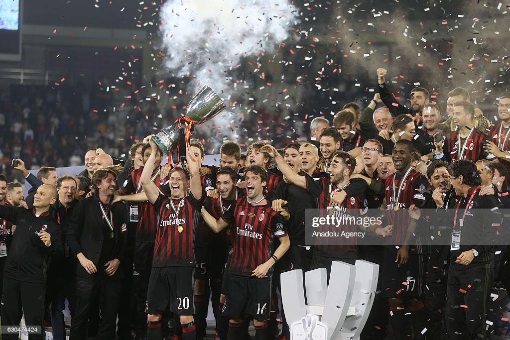 Juventus vs AC Milan - Italian Super Cup Final : News Photo