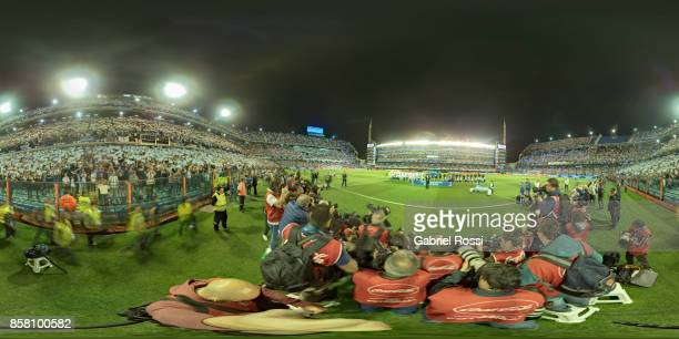 Players of Argentina and Peru pose for pictures prior a match between Argentina and Peru as part of FIFA 2018 World Cup Qualifiers at Estadio Alberto...